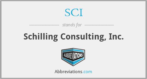 SCI - Schilling Consulting, Inc.