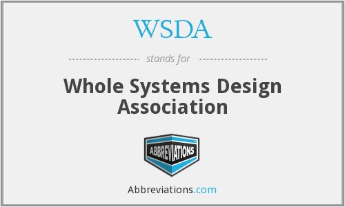 WSDA - Whole Systems Design Association
