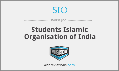 SIO - Students Islamic Organisation of India