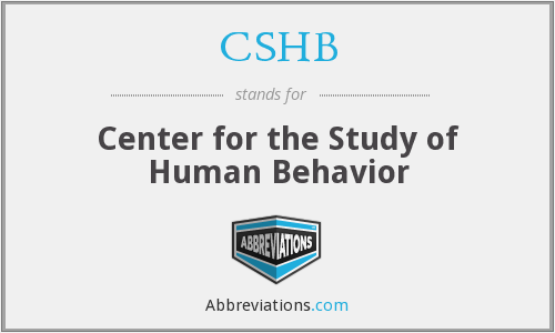 What does CSHB stand for?