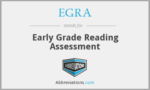 What does EGRA stand for?