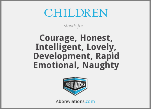 What does CHILDREN stand for?