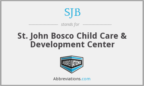 SJB - St. John Bosco Child Care & Development Center