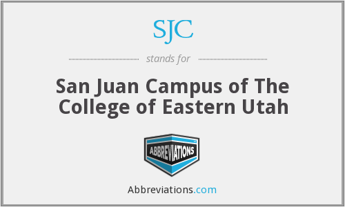 SJC - San Juan Campus of The College of Eastern Utah