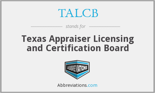 What does TALCB stand for?