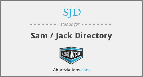 SJD - Sam / Jack Directory
