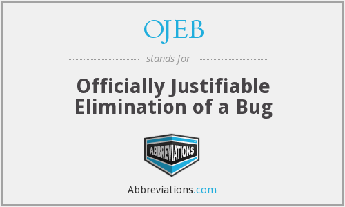 What does OJEB stand for?