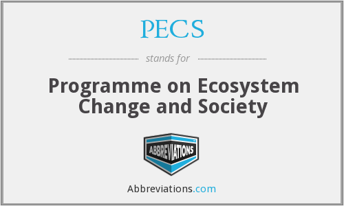 PECS - Programme on Ecosystem Change and Society