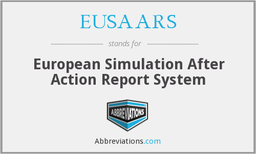 EUSAARS - European Simulation After Action Report System
