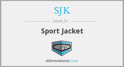 What does SJK stand for?