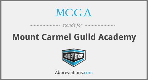 MCGA - Mount Carmel Guild Academy