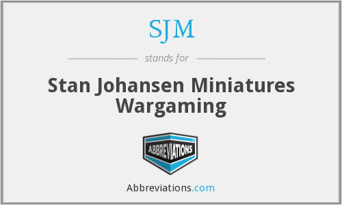 SJM - Stan Johansen Miniatures Wargaming