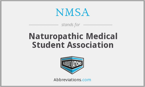 NMSA - Naturopathic Medical Student Association
