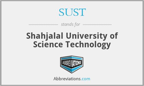 SUST - Shahjalal University of Science Technology