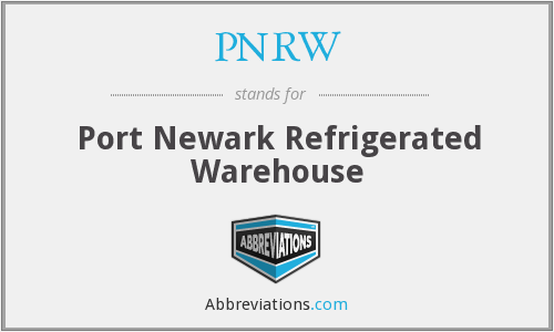 What does PNRW stand for?