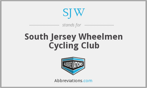 SJW - South Jersey Wheelmen Cycling Club