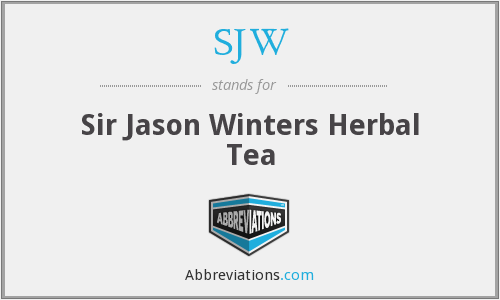 SJW - Sir Jason Winters Herbal Tea