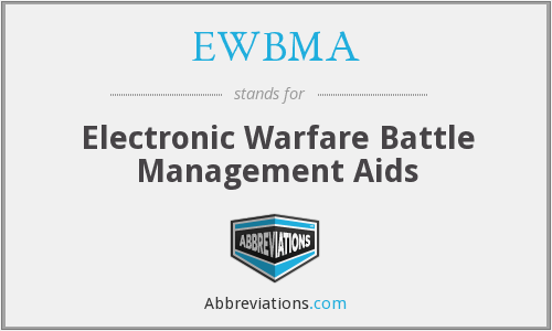 EWBMA - Electronic Warfare Battle Management Aids
