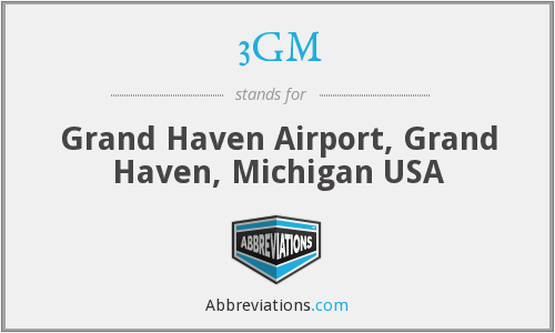 3GM - Grand Haven Airport, Grand Haven, Michigan USA
