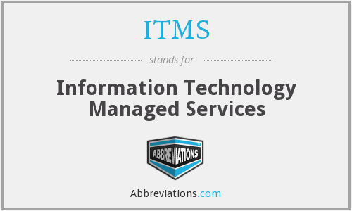 ITMS - Information Technology Managed Services