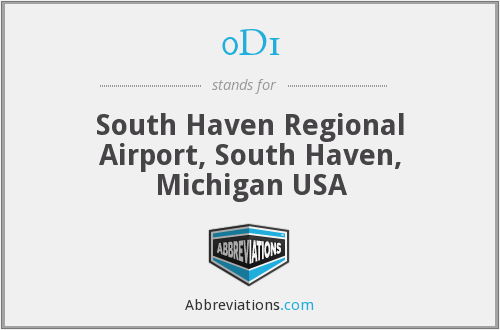 0D1 - South Haven Regional Airport, South Haven, Michigan USA