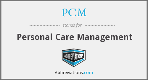 What does PCM stand for?
