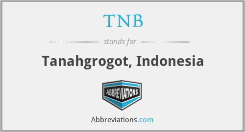 TNB - Tanahgrogot, Indonesia