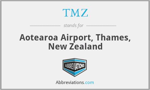 TMZ - Aotearoa Airport, Thames, New Zealand