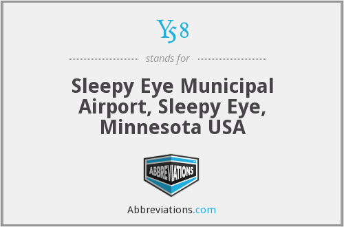 Y58 - Sleepy Eye Municipal Airport, Sleepy Eye, Minnesota USA