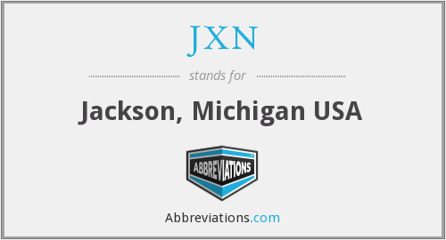 What does JXN stand for?