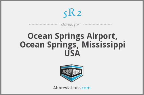 5R2 - Ocean Springs Airport, Ocean Springs, Mississippi USA