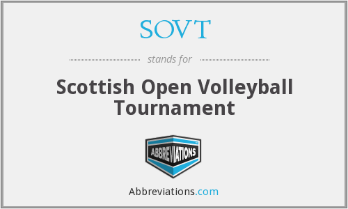 What does SOVT stand for?