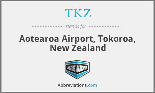 TKZ - Aotearoa Airport, Tokoroa, New Zealand