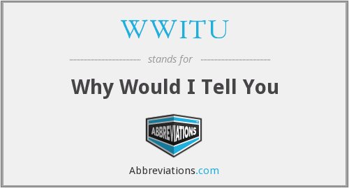 What does WWITU stand for?