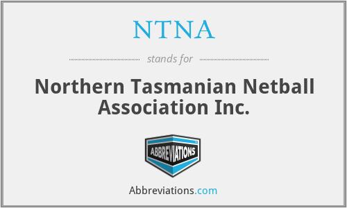 NTNA - Northern Tasmanian Netball Association Inc.