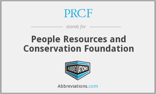 What does PRCF stand for?