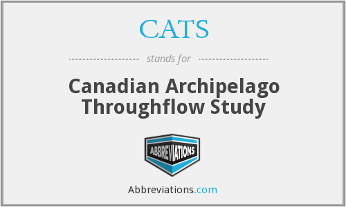 CATS - Canadian Archipelago Throughflow Study