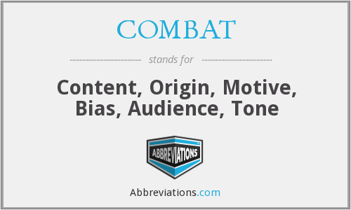 What does COMBAT stand for?