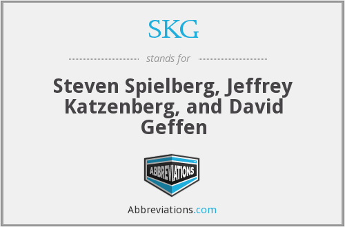 SKG - Steven Spielberg, Jeffrey Katzenberg, and David Geffen