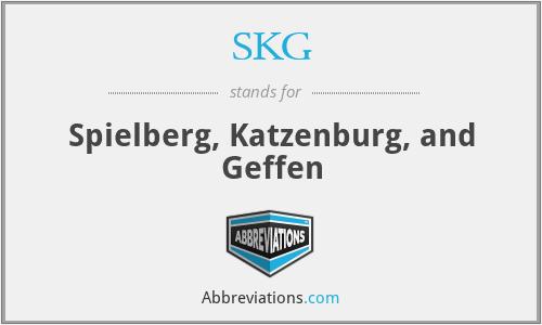 SKG - Spielberg, Katzenburg, and Geffen