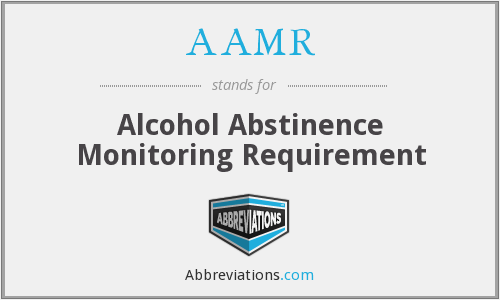 What does AAMR stand for?