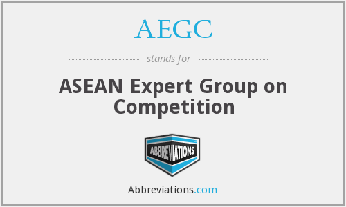 AEGC - ASEAN Expert Group on Competition