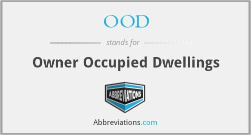 OOD - Owner Occupied Dwellings