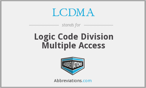 What does LCDMA stand for?