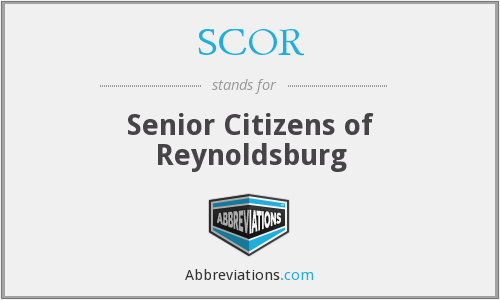 SCOR - Senior Citizens of Reynoldsburg