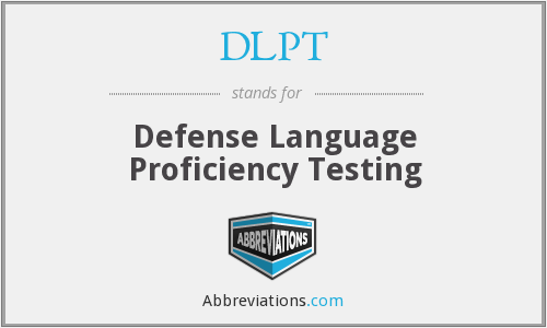 What does DLPT stand for?