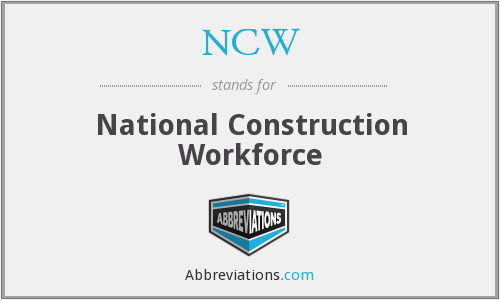 NCW - National Construction Workforce