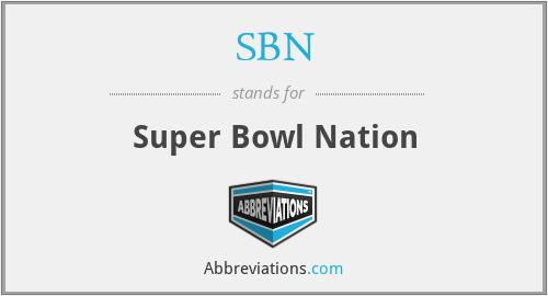 SBN - Super Bowl Nation