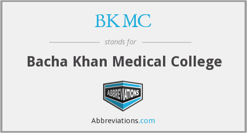 What does BKMC stand for?