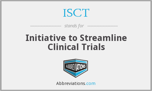 What does ISCT stand for?